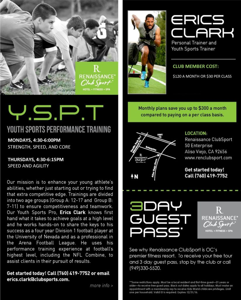 Get Fast Thursdays (Speed & Agility) (wear athletic shoes & clothes, Bring water) @ Renaissance Clubsport (Turf Field) | Aliso Viejo | California | United States